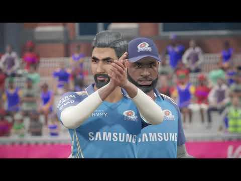 Cricket 19 IPL 2021 RCB vs MI First Match PS4 Gameplay