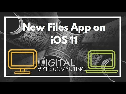 How to use the new Files App on iOS 11 | Overview on iPhone