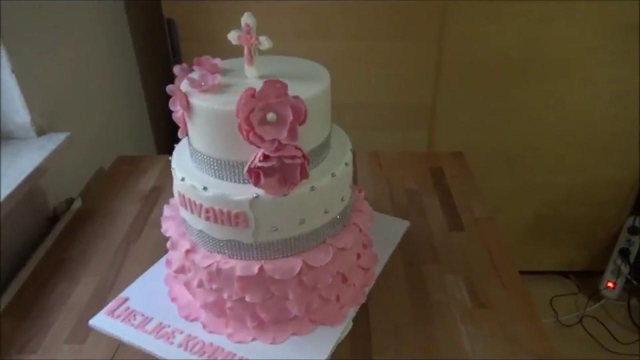 Tauftorte Torte Zur Taufe Baptism Cake