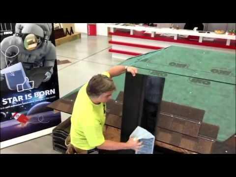 Krok 4: Instalace šindelů Cambridge Xtreme 9,5° - YouTube