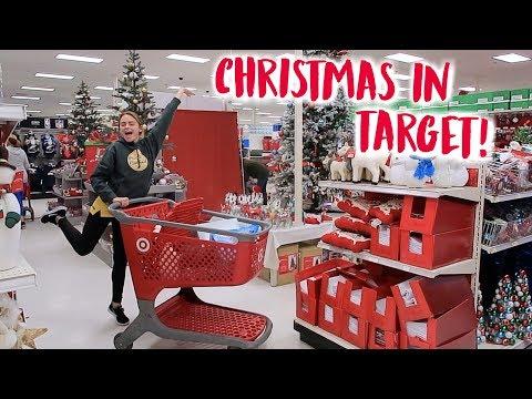 Christmas Shopping at Target!! (vlogmas day 4!!) | Summer Mckeen