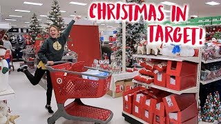 Christmas Shopping at Target!! (vlogmas day 4!!) | Summer Mckeen