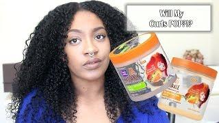 Will My Curls POP?!? Wash n Go | Dark n Lovely Au Naturale
