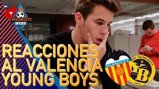 ÁLEX Silvestre, DESATADO con la VICTORIA del VALENCIA ante el YOUNG BOYS en CHAMPIONS LEAGUE