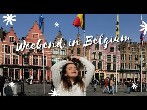 "My Parisian Diaries - Vlog 4: ""Weekend in Belgium "" 