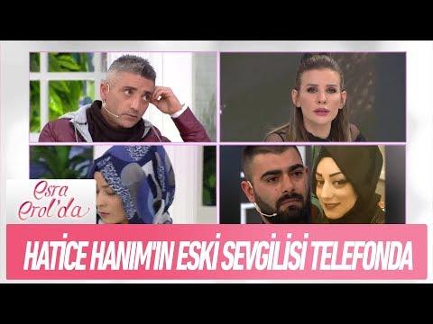 Hatice Hanım'ın eski sevgilisi telefonda - Esra Erol'da 6 Şubat 2019