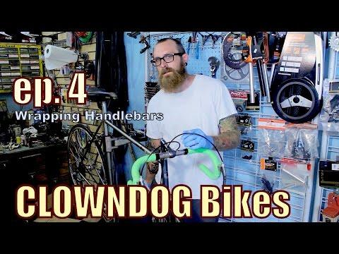 Wrapping Bicycle Handlebar Tape Doovi