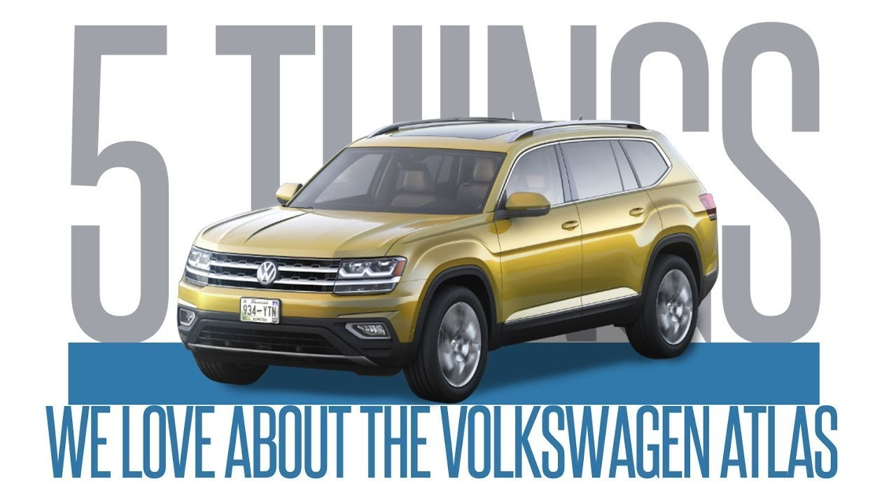 401 Dixie Volkswagen >> 2018 Vw Atlas 5 Things We Love 401 Dixie Volkswagen
