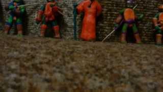 Черепашки Ниндзя из Пластилина
