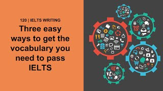 IELTS Vocabulary: 3 Easy ways to get the vocabulary you need