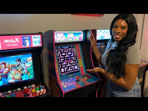 MS PAC-MAN VS PAC-MAN COUPLES CHALLENGE - THE REMATCH! Arcade1up from The 3rd Floor Arcade with Jason