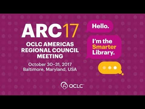 OCLC Americas Regional Council 2017– Hello, I'm the smarter library