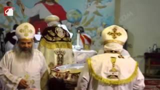 بالفيديو والصور- احتفالات أعياد الميلاد بدير القديس سمعان الخراز