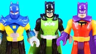 Imaginext Joker Steamroller Captures Robin + Green Lantern Batman Dream Superhero Friend