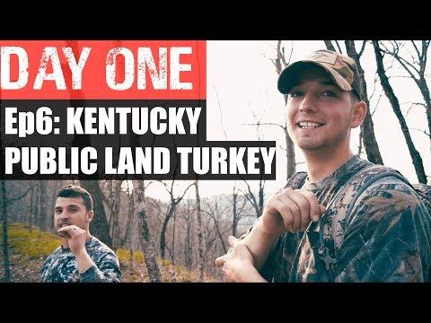 Ep6: KENTUCKY PUBLIC LAND TURKEY HUNTING. DAY ONE.