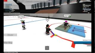 (HHCL Roblox Hockey) Friends, Sniping, Getting Rekt, Having fun
