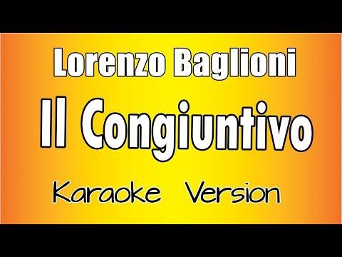 Lorenzo Baglioni - Il Congiuntivo (Karaoke Version)