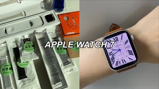 Review :: 애플워치7 스타라이트 실물후기⌚️/스…
