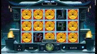 Storm Lords Slot - Realtime Gaming (Bonus Triggered)