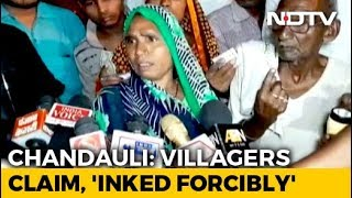 UP Villagers Allege Ink Applied Forcibly To Prevent Them From Voting