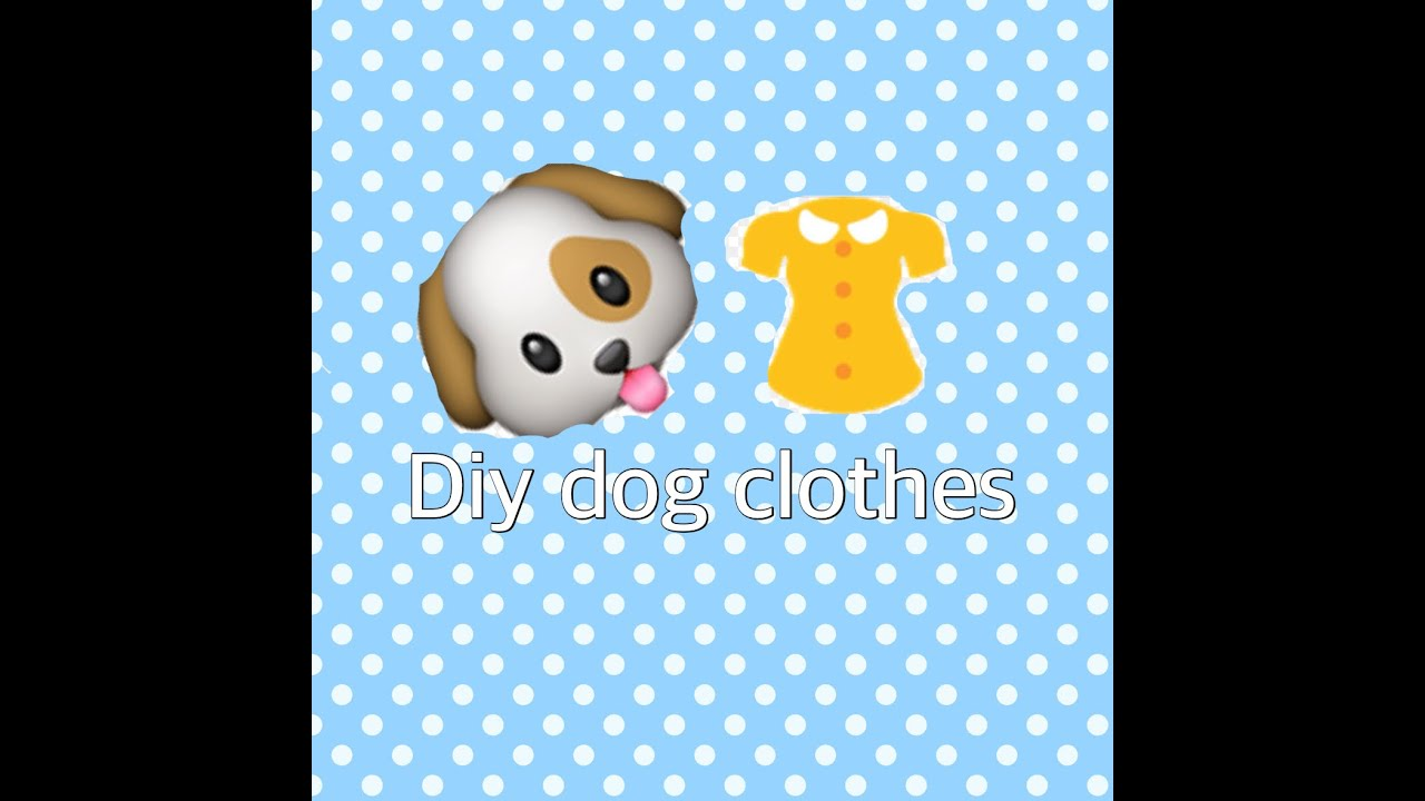 Create a bodysuit for your dog instead of the T-shirt. Place the correct size onesie on your dog and mark the area on the onesie where your dog's tail is located using the .