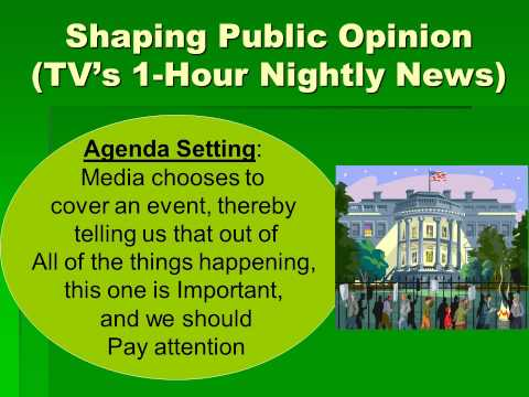 Political Science 1 The Media