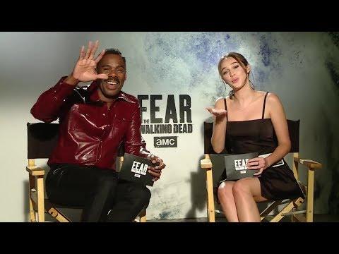 Fear The Walking Dead S4: AMC Latinoamérica Facebook Live  Alycia DebnamCarey & Colman Domingo