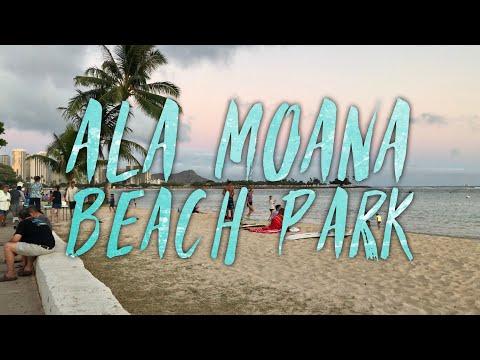 ala-moana-beach-park,-honolulu,-hawaii