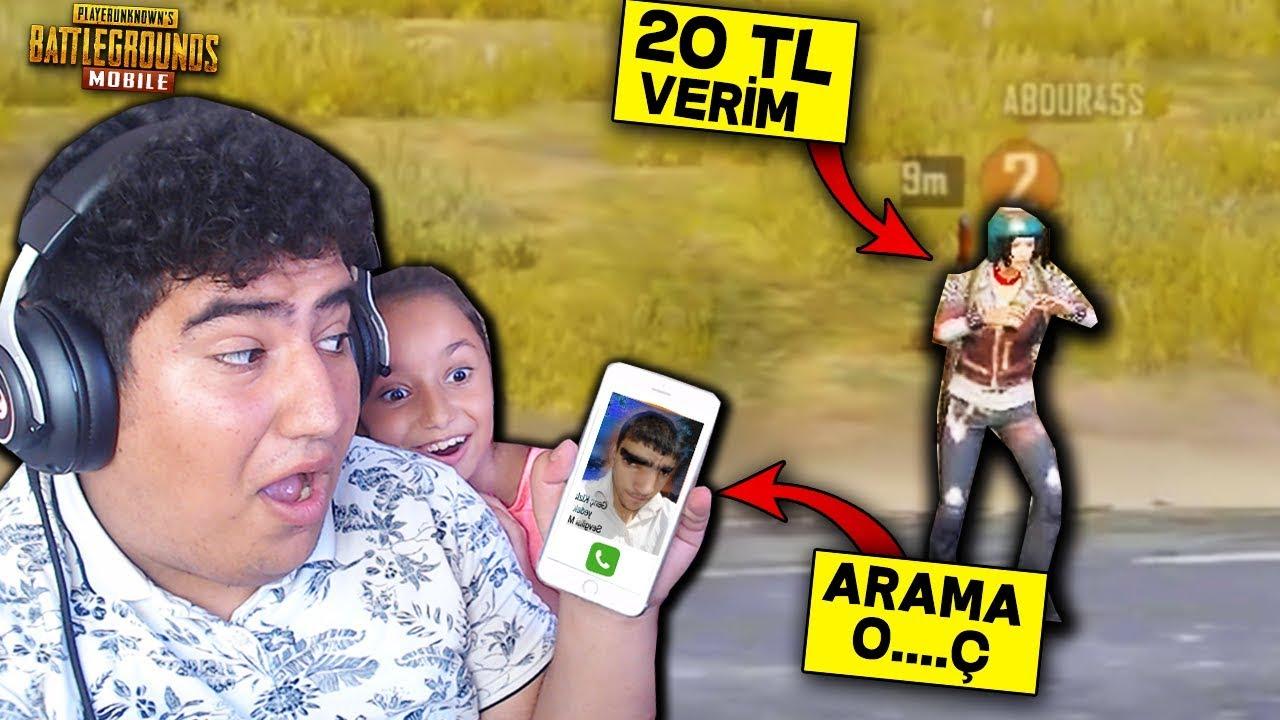 20 TL HİLE SATTIM ADAM BENİ ARADI EFSANE TROLL - PUBG Mobile