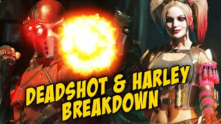 DEADSHOT & HARLEY: Gameplay Breakdown (Injustice 2)