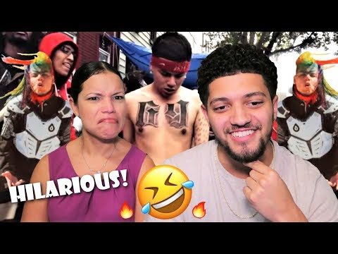 Mom Reacts To 6IX9INE BEFORE THE FAME! *SCUMLIFE & POLES!*