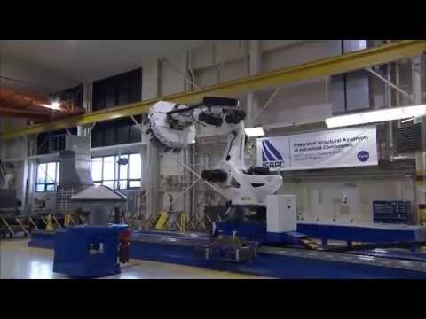 NASA's Massive New Robot Arm Could Build Even Lighter and Stronger Spacecraft