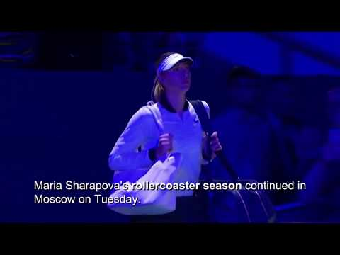 Maria Sharapova defeated in opening round of Kremlin Cup