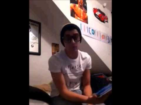 Zayn Malik singing You Belong With Me by Taylor Swift