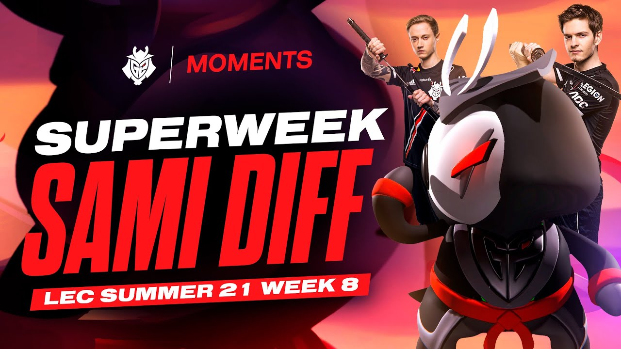 Superweek Sami Diff | LEC 2021 Summer Week 8 Moments