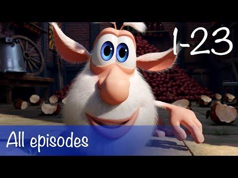 Booba - Compilation of All 23 episodes + Bonus - Буба - Cartoon for kids