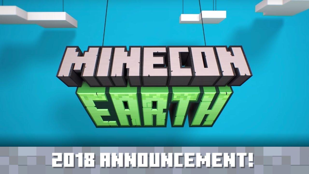 Announcing Minecon Earth  Minecraft
