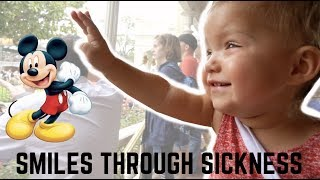 OAKLEY IS VERY SICK AT DISNEY WORLD