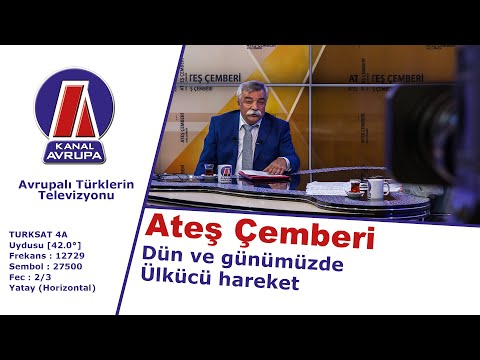 Ateş Çemberi: Ozan Arif - Dün ve günümüzde Ülkücü hareketi - 05.12.2015 | Kanal Avrupa