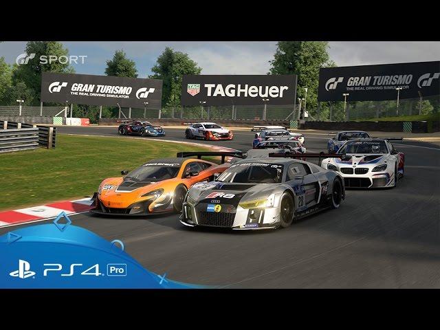 Gran Turismo Sport | PSX 2016 Trailer | PS4