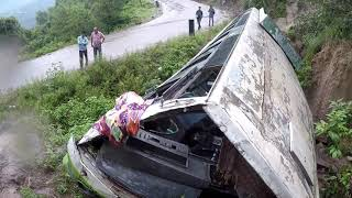 Accident Prone Area (Manali-Bilaspur-Chandigarh Highway)