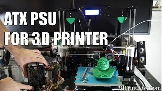 Tutorial Using An ATX Power Supply With Your 3d Printer