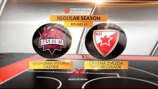 Highlights: Baskonia Vitoria Gasteiz-Crvena Zvezda mts Belgrade