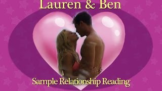 Sample Relationship Reading - Ben Higgins & Lauren Bushnell - Lots of Venus Energy!