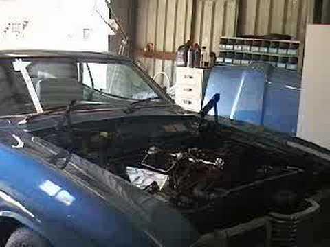 ford landau 351 cleveland engine startup