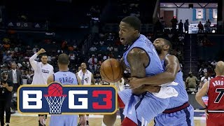 Joe Johnson UNSTOPPABLE in BIG3 Week 2 and Hits Game Winner