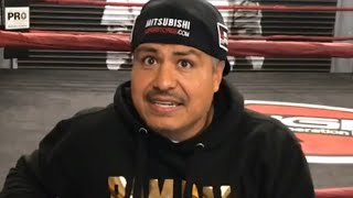 """MIKEY GARCIA VS ERROL SPENCE AFTER LIPINETS? """"HE MEANS IT!"""" ROBERT GARCIA & FATHER SEEMS AGAINST IT!"""