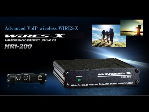 HRI-200 Wires-X DR-1X system fusion repeater