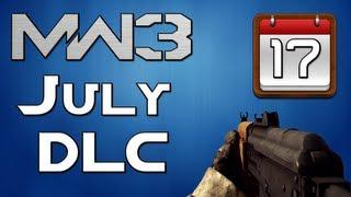 MW3: July DLC Info + Updates!