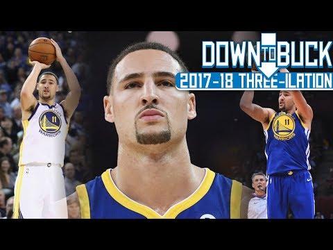 Klay Thompson All 229 Three-Pointers Full Highlights (2017-18 Season Three-ilation Part II)